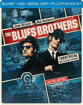 The Blues Brothers (1980) (Steelbook, Blu-ray + DVD)
