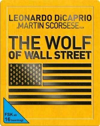 The Wolf of Wall Street (2013) (Limited Edition, Steelbook)