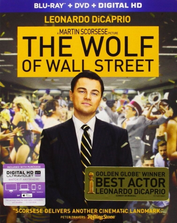 The Wolf of Wall Street (2013) (Blu-ray + DVD)