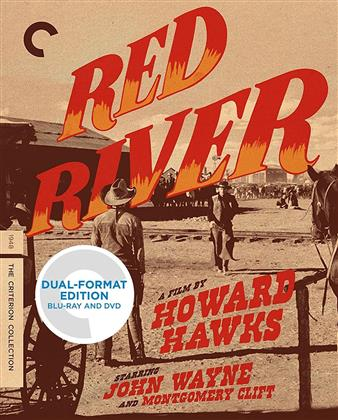 Red River (1948) (s/w, Criterion Collection, Blu-ray + DVD)