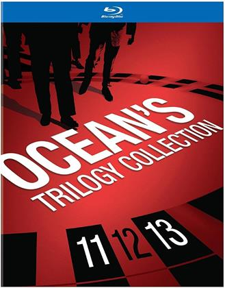 Ocean's Trilogy Collection (Gift Set, 4 Blu-rays)