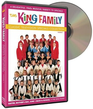 The King Family - Classic Television Specials Collection, Vol. 1 (2 DVD)