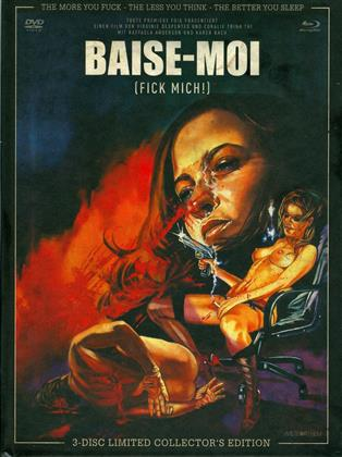 Baise-moi - Fick mich (2000) (Cover A, Collector's Edition, Limited Edition, Mediabook, Blu-ray + 2 DVDs)