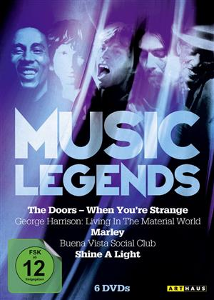 Various Artists - Music Legends (6 DVDs)