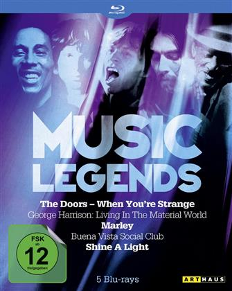 Various Artists - Music Legends (5 Blu-rays)