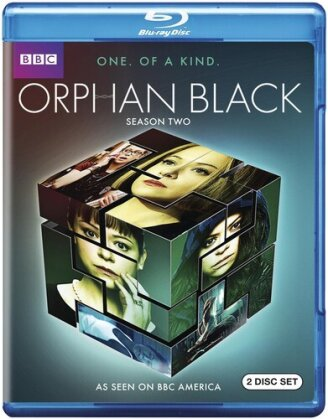 Orphan Black - Season 2 (BBC, 2 Blu-ray)