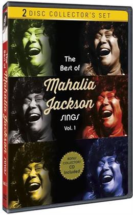 Mahalia Jackson - The Best of Mahalia Jackson Sings, Vol. 1 (n/b, DVD + CD)