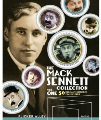 The Mack Sennett Collection - Vol. 1 (s/w, 3 Blu-rays)