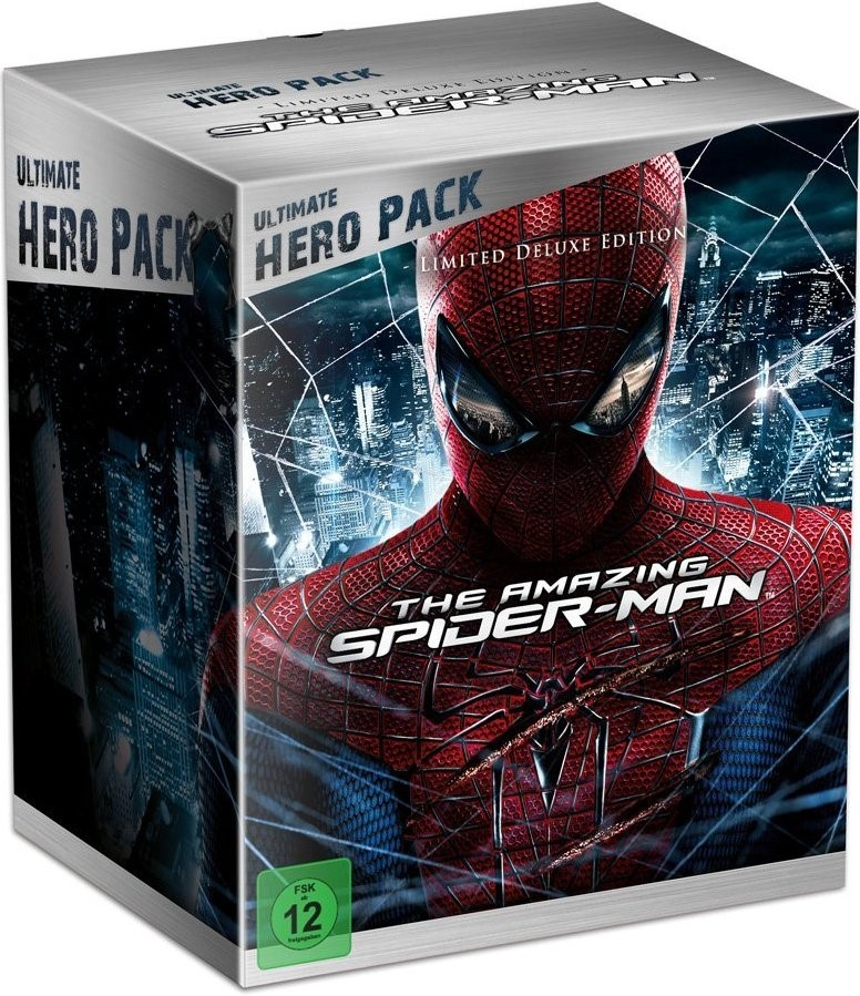 The Amazing Spider-Man (2012) - (Ultimate Hero Pack - Limited Deluxe Edition - Real 3D + 2D 2 Discs + Figur)