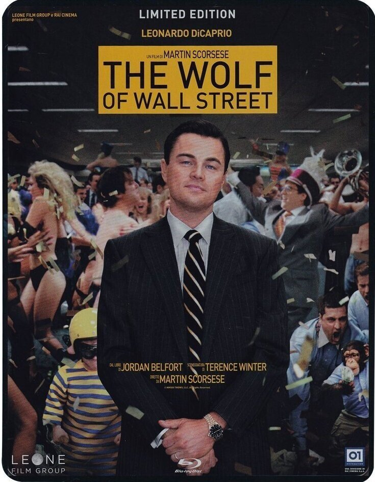 The Wolf of Wall Street (2013) (Limited Edition, Steelbook, 2 Blu-rays)