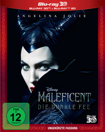 Maleficent - Die dunkle Fee (2014) (Uncut, Blu-ray 3D + Blu-ray)