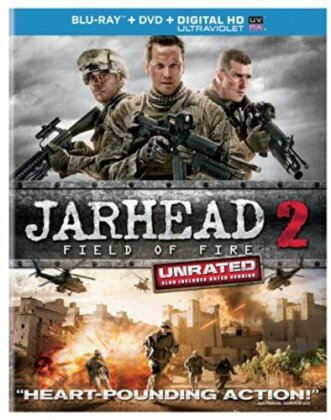 Jarhead 2 - Field of Fire (2014) (Unrated, Blu-ray + DVD)