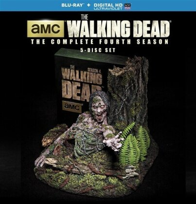 The Walking Dead - Season 4 (Limited Edition, 5 Blu-rays)
