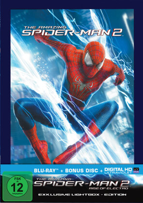 The Amazing Spider-Man 2 - Rise of Electro (Lightbox-Cover mastered in 4K- 2 Discs) (2014)