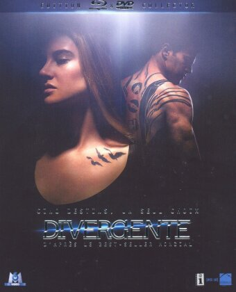 Divergente (2014) (Collector's Edition, Blu-ray + 2 DVDs)