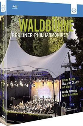 Berliner Philharmoniker, Chailly Riccardo, … - Waldbühne in Berlin 2009, 2010 & 2011 (Euro Arts, 3 Blu-ray)