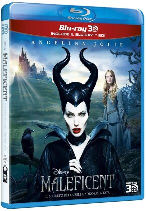 Maleficent (2014) (Blu-ray 3D + Blu-ray)
