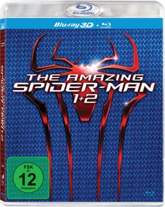 The Amazing Spider-Man (2012) 3D / The Amazing Spider-Man 2 (2014) (4 Blu-ray 3D (+2D))