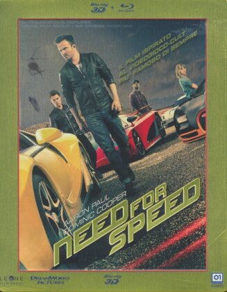 Need for Speed (2014) (Steelbook, Blu-ray 3D + Blu-ray)