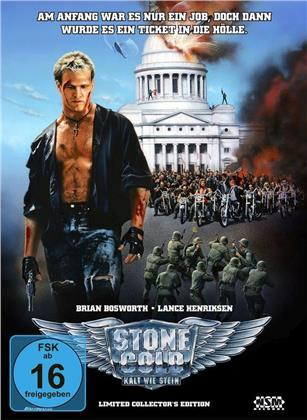 Stone Cold - Kalt wie Stein (1991) (Cover B, Collector's Edition Limitata, Mediabook, Blu-ray + 2 DVD)
