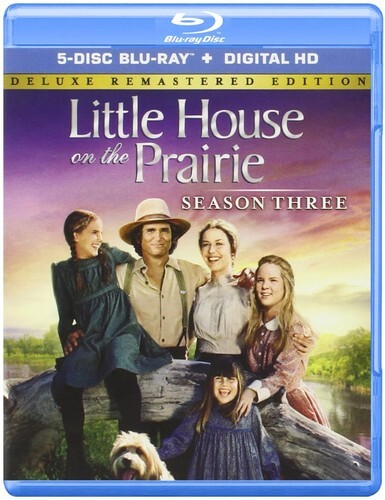 Little House on the Prairie - Season 3 (Deluxe Edition, Remastered, 5 Blu-rays)