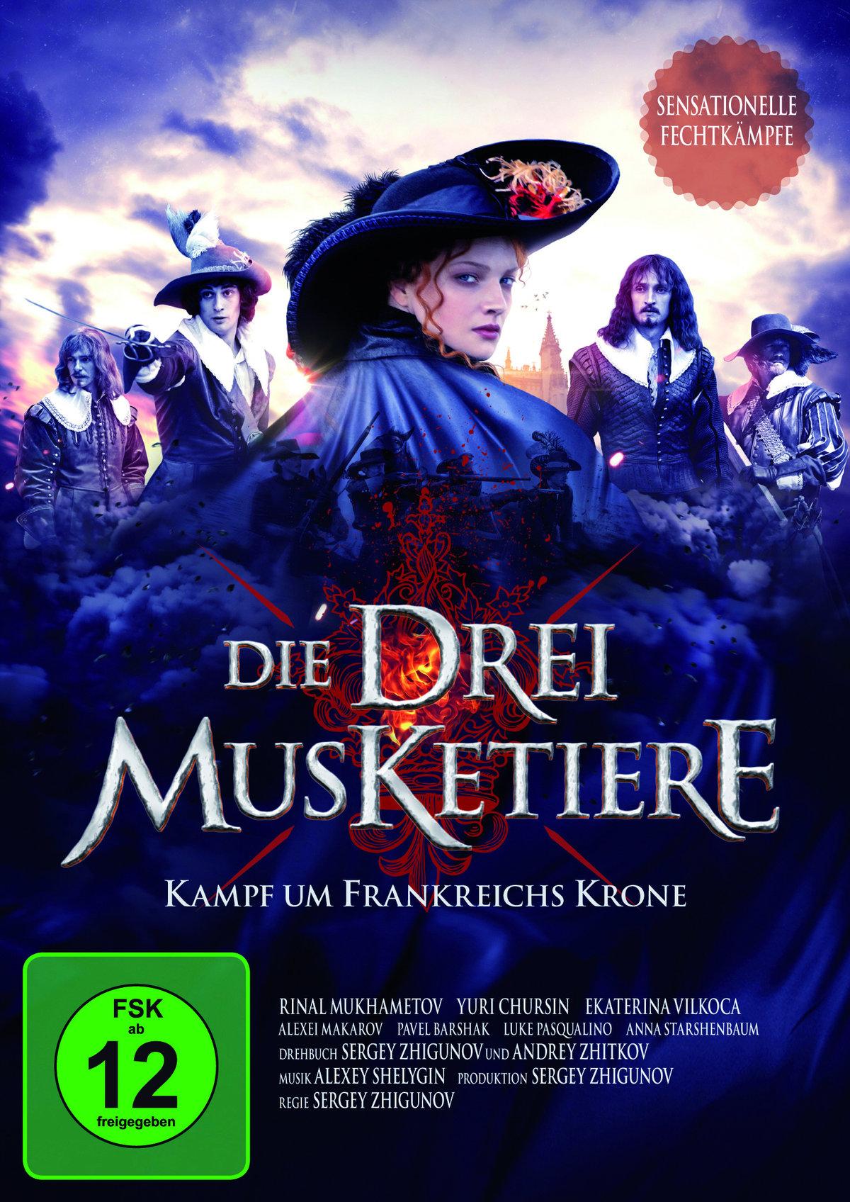 Die drei Musketiere - Kampf um Frankreichs Krone (2013) - Der Film (Cede)