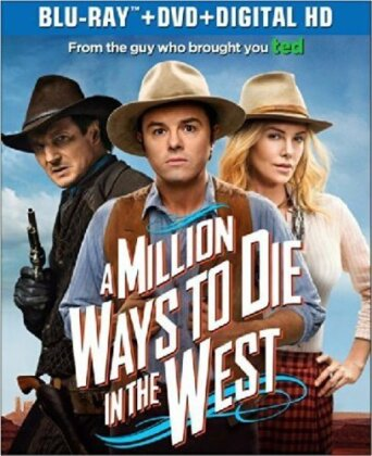 A Million Ways to Die in the West (2014) (Blu-ray + DVD)