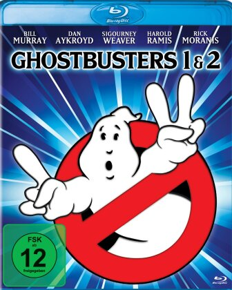 Ghostbusters 1 & 2 (Mastered in 4K, 2 Blu-rays)
