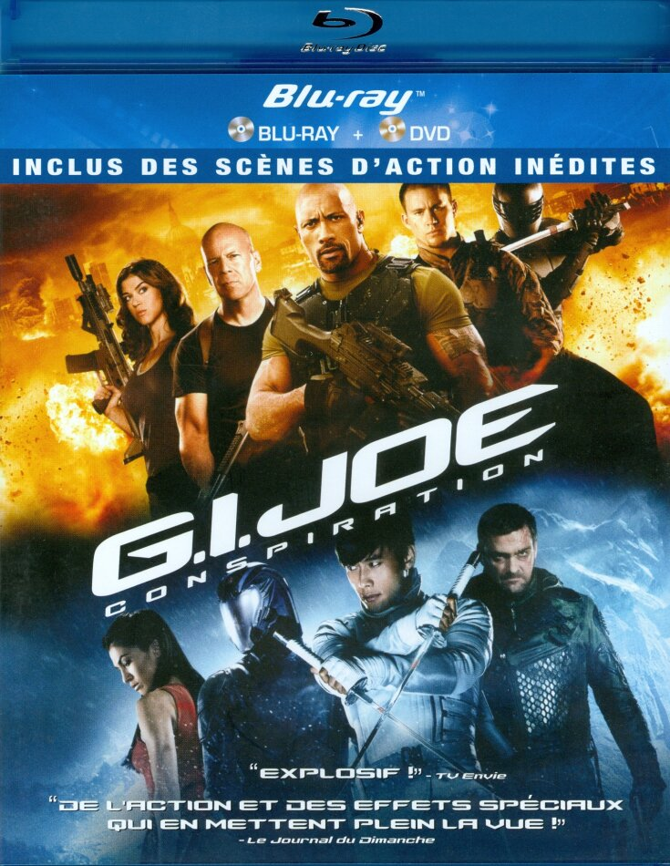G.I. Joe - Conspiration (2012) (Single Edition, Blu-ray + DVD)