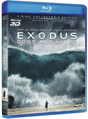 Exodus - Gods and Kings (2014) (Collector's Edition, Blu-ray 3D + 2 Blu-ray)