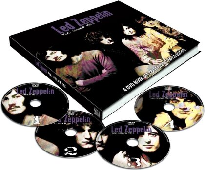 Led Zeppelin - You Shook Me (Collector's Edition, 4 DVDs + Buch)