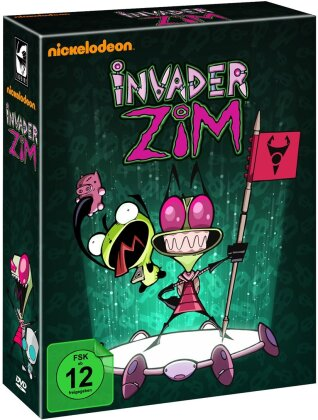 Invader Zim - Die komplette Serie (Limited Edition, 8 DVDs)