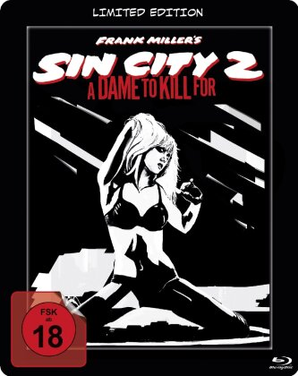 Sin City 2 - A dame to kill for (2014) (Limited Edition, Steelbook)