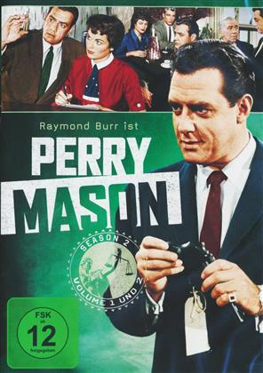 Perry Mason - Staffel 2 (s/w, 8 DVDs)