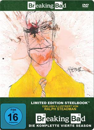 Breaking Bad - Staffel 4 (Limited Edition, Steelbook, 4 DVDs)