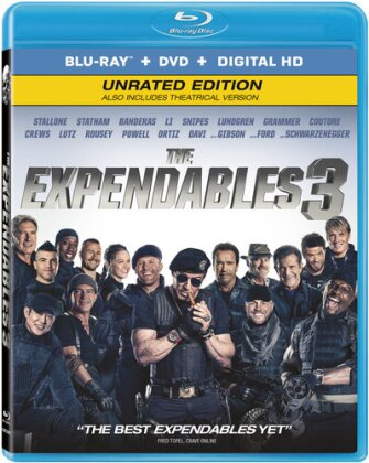 The Expendables 3 (2014) (Unrated, Blu-ray + DVD)