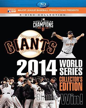 MLB: 2014 World Series - Giants Win! (Collector's Edition, 8 Blu-ray)