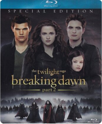 Twilight 4 - Breaking Dawn - Part 2 (2011) (Limited Edition, Steelbook)