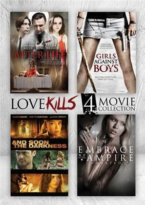After.Life / Girls Against Boys / And Soon the Darkness / Embrace of the Vampire - Love Killls 4 Movie Collection (4 DVDs)