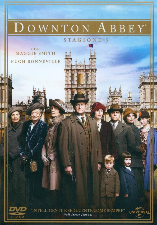 Downton Abbey - Stagione 5 (5 DVDs)