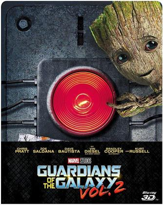 Guardians of the Galaxy - Vol. 2 (2017) (Limited Edition, Steelbook, Blu-ray 3D + Blu-ray)