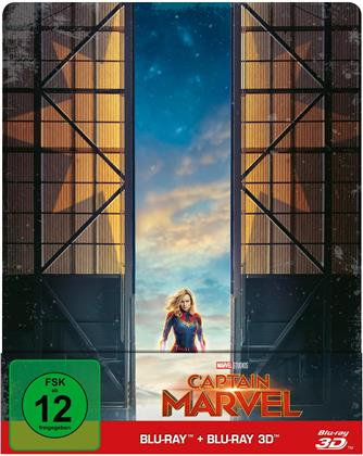Captain Marvel (2019) (Limited Edition, Steelbook, Blu-ray 3D + Blu-ray)