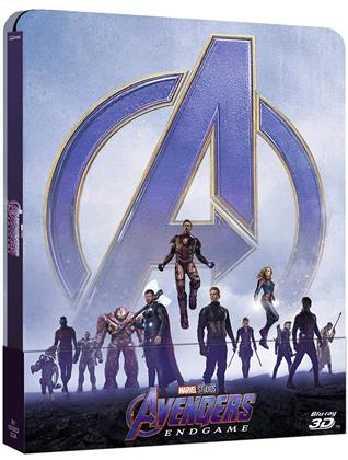 Avengers 4 - Endgame (2019) (Limited Edition, Steelbook, Blu-ray 3D + 2 Blu-rays)