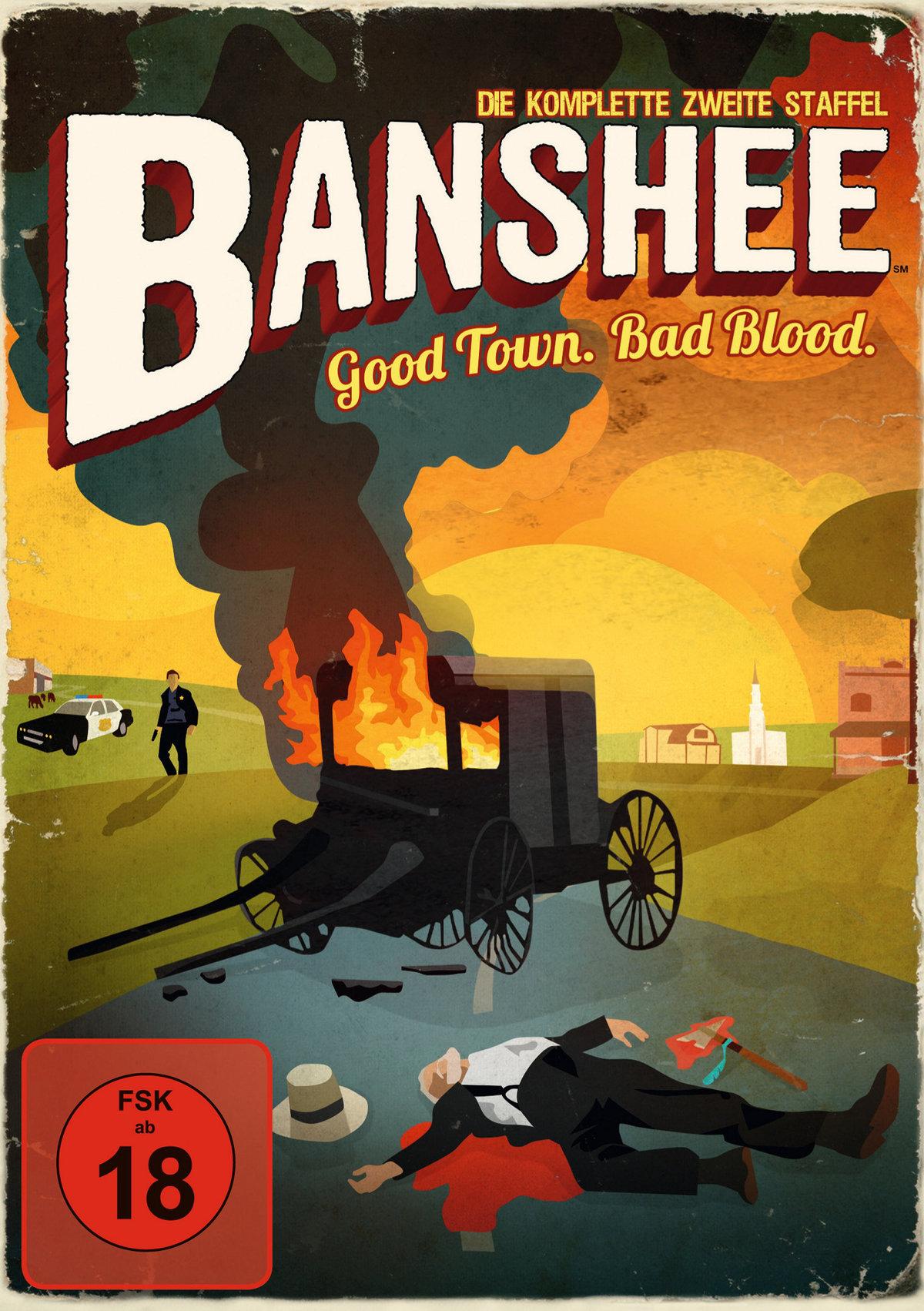 Banshee - Staffel 2 (4 DVDs) (Cede)
