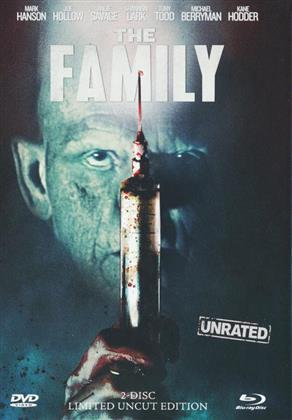 The Family (2011) (Cover A, Limited Edition, Mediabook, Unrated, Blu-ray + DVD)