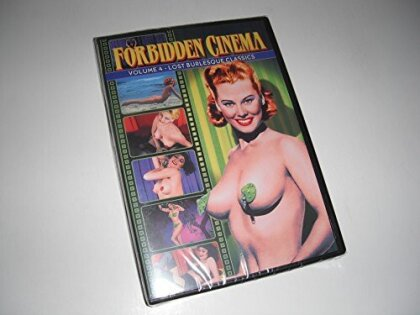 Forbidden Cinema - Vol. 4: Lost Burlesque Classics (s/w)