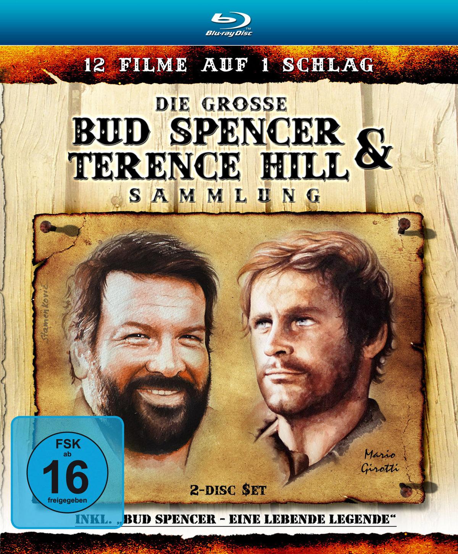 Die grosse Bud Spencer & Terence Hill Sammlung - (2 Blu-rays)