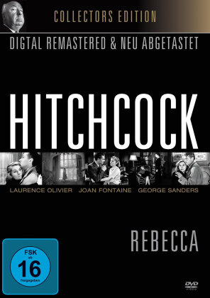 Rebecca - Hitchcock (1940) (Collector's Edition, s/w, Remastered)