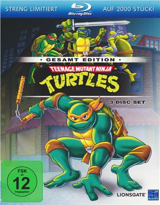 Teenage Mutant Ninja Turtles - Die komplette Serie (Gesamtedition, Limited Edition, 3 Blu-rays)