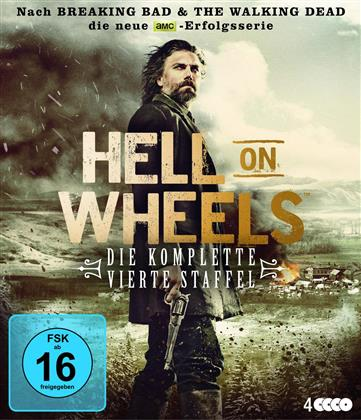 Hell on Wheels - Staffel 4 (4 Blu-rays)